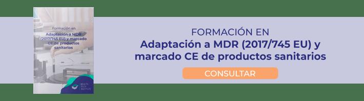 formación MDR 2017 745 Eu y marcado CE de productos sanitarios