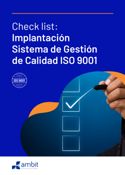 Portada checklist ISO 9001